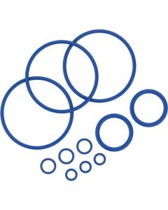 To Σετ Δαχτυλιδιών Σφράγισης περιλαμβάνει 11 δαχτυλίδια σφράγισης διαφόρων μεγεθών για τον vaporizer Mighty