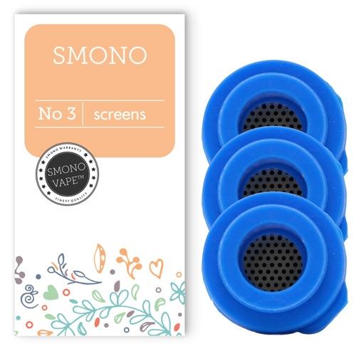 Βεβαιωθείτε πως ο ατμός σας είναι πάντα καθαρός με αυτές τις ανταλλακτικές Σίτες για τον ατμοποιητή Smono 3