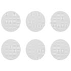 Αυτό το Σετ από Μικρές Κανονικές Σίτες περιλαμβάνει 6 κανονικές σίτες που ταιριάζουν στον Crafty, τον Mighty και τους προσαρμογείς Κάψουλας Δοσολογίας